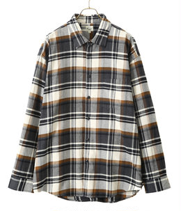 【予約】40/2 NEL CHECK BIG SHIRT