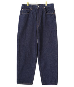【予約】14oz.DENIM 5POCKET WIDE PANTS