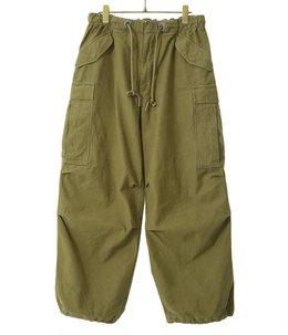【予約】HEAVY BACKSATIN OVER CARGO PANTS