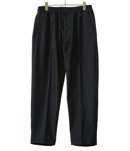 WOOL TWILL SLIM EASY PANTS