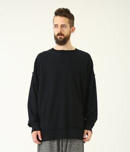 HEAVY SUVIN CREW NECK INSIDE OUT