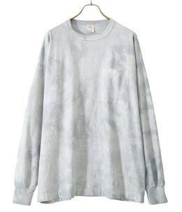 14/- HEAVY COTTON L/S WIDE T-SHIRT TIE DYE DYED