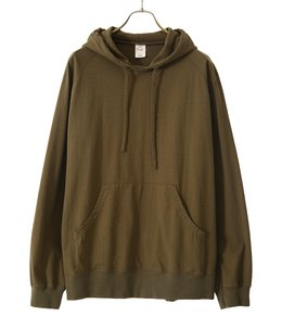 【予約】14/- HEAVY COTTON HOODED L/S T-SHIRT