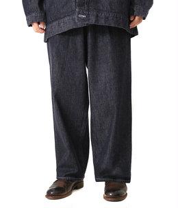 Colorfast Denim Two Tuck Pants