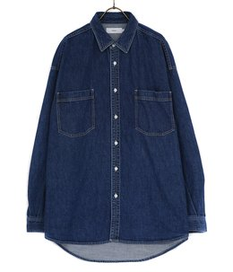 Denim Regular Collar Shirt