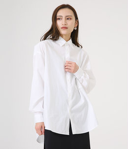 【レディース】Broad Oversized L/S Regular Collar Shirt