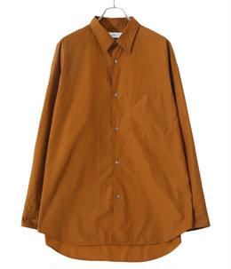 Broad Oversized L/S Regular Collar Shirt