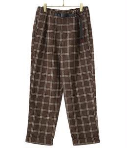 【予約】WOOL BLEND TUCK TAPERED PANTS