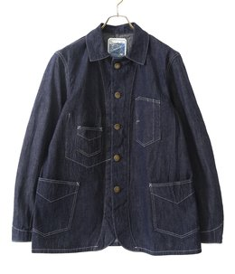 9.5oz. BLUE DENIM WOAK COAT