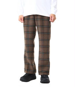 F.P. Boot-Cut Trouser - Plaid Tweed