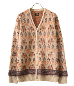 Mohair Cardigan - Triangle