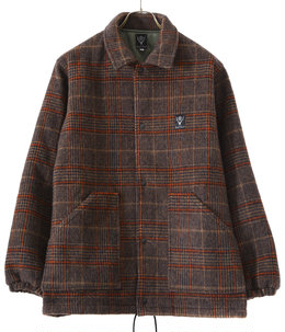 Coach Jacket - Double Cloth Plaid