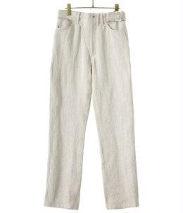 【レディース】Linen Canvas Bikers Pants