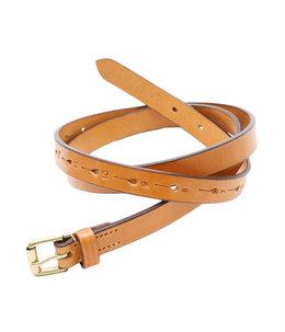 Long Saddle Leather Belt 20hole