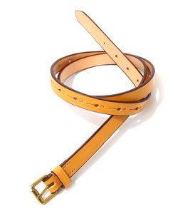 Long Saddle Leather Belt 20hole