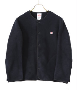 【予約】【レディース】NO COLLAR FLEECE SHORT CARDIGAN
