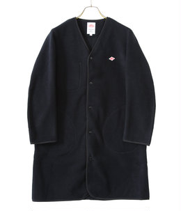 【予約】【レディース】NO COLLAR FLEECE LONG CARDIGAN