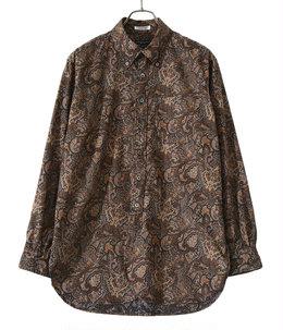 19 Century BD Shirt Cotton Paisley Print