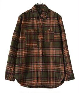 Work Shirt Cotton Twill Plaid