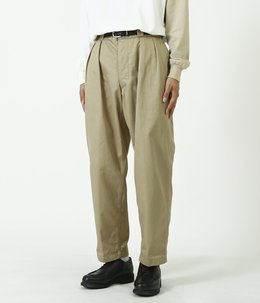 【予約】2Pleats Tapered Trousers