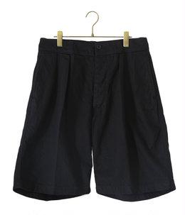 【予約】2Pleats Wide Shorts