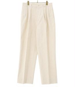 【予約】2Pleats Tapered Trousers