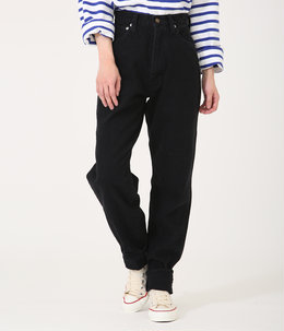 "【レディース】""LUCY"" HIGH WAIST TAPERED JEANS 《BLACK》"