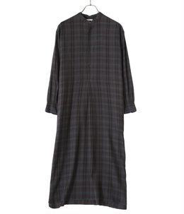 【レディース】BAND COLLAR PULLOVER DRESS