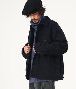 【予約】COWBOY JACKET - falkland wool tweed -