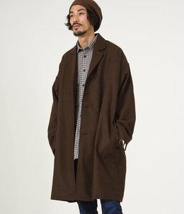 SHIRT COAT - wool soft serge -