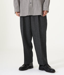 2TUCK COCOON FIT - high count melange wool -