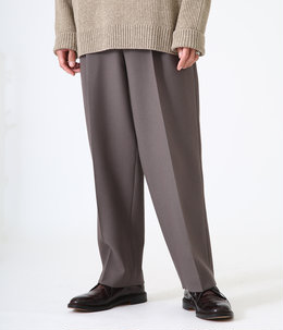 CLASSICAL TROUSERS - dry wool serge -