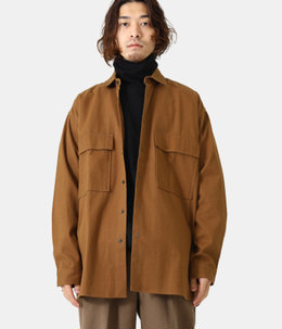 FLAP POCKET SHIRT - soft amunzen -