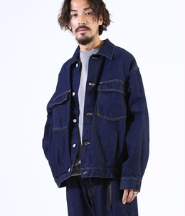 DENIM JACKET - 12oz organic cotton denim -