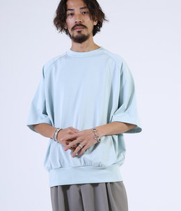 CREW NECK S/S - 50/-compact knit -