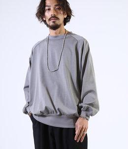 CREW NECK L/S - 50/-compact knit -