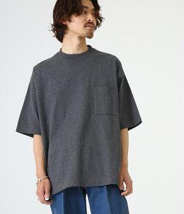 POCKET TEE - 40/2 combed knit -