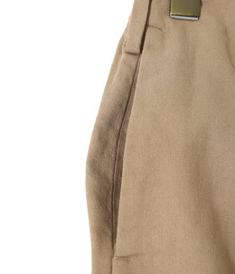 【予約】STITCHLESS TROUSERS - organic cotton soft amunzen -