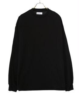 【予約】FOOT BALL TEE L/S - 20//-suvingiza knit -