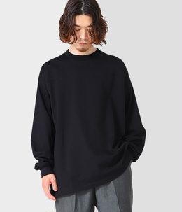 FOOT BALL TEE L/S - 20//-suvingiza knit -