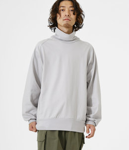 【予約】LOOSE NECK - 30/2 combed cotton knit brushed -