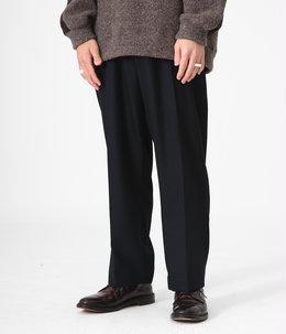 STITCHLESS TROUSERS - 2/48 wool soft serge -