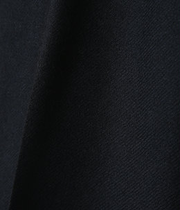 【予約】STRAIGHT FIT TROUSERS - 2/48 wool soft serge -