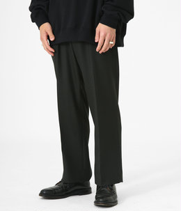 STRAIGHT FIT TROUSERS - 2/48 wool soft serge -