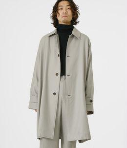 【予約】SHIRT COAT - 2/48 wool soft serge -