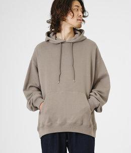 HOODIE - 18/-spain pima cotton fleece -
