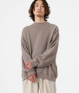 CREW NECK - 18/-spain pima cotton fleece -