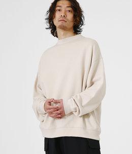 【予約】CREW NECK - 18/-spain pima cotton fleece -