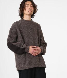 【予約】CREW NECK - wool pile sheep -