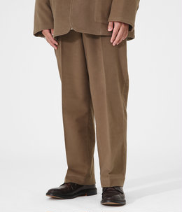 【ONLY ARK】別注 STITCHLESS TROUSERS - soft moleskin -